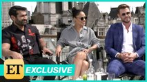 "MEN"" IN BLACK -  INTERNATIONAL': Chris Hemsworth, Tessa Thompson, Kumail Nanjiani (Full Interview)"