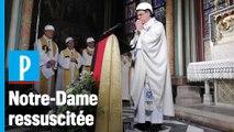 Notre-Dame : la première messe depuis l'incendie a été célébrée