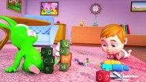 Schätzchen Affe Sand Graben - Kinderlieder Bildung Für Kinder - Kinder Spielen Lustig