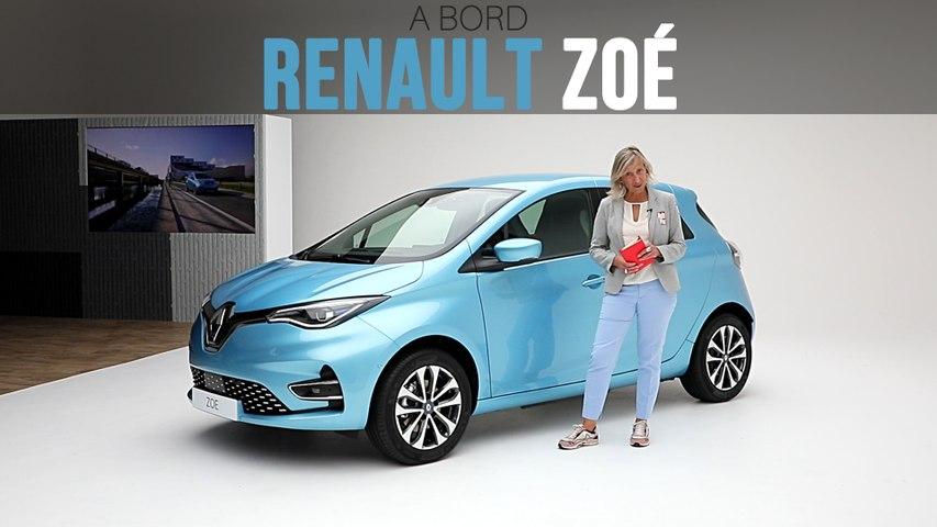 A bord de la Renault Zoé (2019)