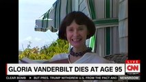 Anderson Cooper Reads Gloria Vanderbilt's Obituary
