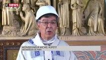 Notre-Dame de Paris : une première messe dans la cathédrale depuis l'incendie