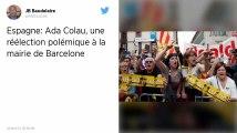 Espagne. Ada Colau reconduite à la tête de la maire de Barcelone