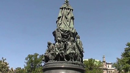 Monument to Catherine the Great, St Petersburg - Russia Holidays