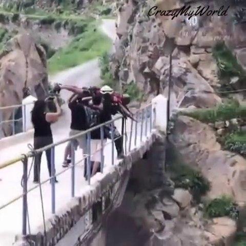 Canon Of Autisha Bridge Jump