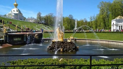 Peterhof Park Magical Fountains and Palace Gardens - Russia Holidays