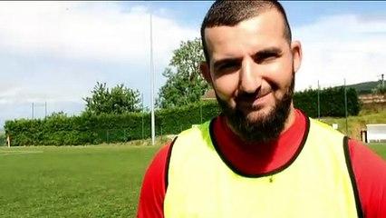 Barrage R3 – Youssef AZIZI réagit après la victoire du FC VENISSIEUX B contre le LOSC