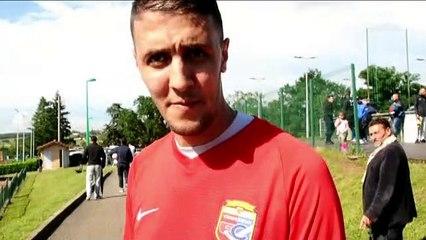 Barrage R3 – Karim FETTACHE réagit après la victoire du FC VENISSIEUX B contre le LOSC