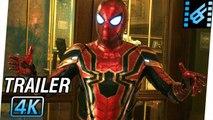 SPIDER-MAN Far From Home Trailer 2 (2019) 4K Ultra HD - Tom Holland, Zendaya, Samuel L. Jackson