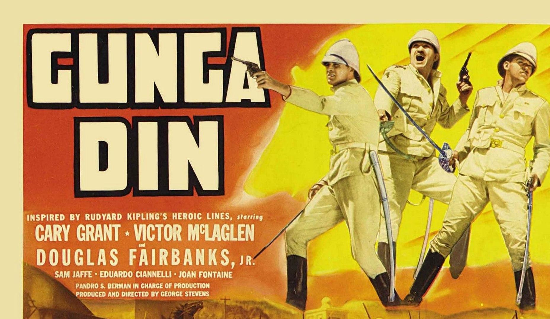 Gunga Din Movie 1939 Video Dailymotion 'if you don't fill up my helmet, gunga din!' 'e would dot an' carry one. gunga din movie 1939
