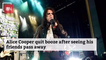 Alice Cooper Stays Away From The Bottle