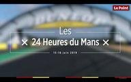 Sur le circuit des 24 Heures du Mans