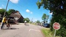 Route de Saône-et-Loire: en direction de Jambles