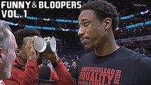 NBA Funny Moments - Bloopers of 2017/18 Season - Vol. 1