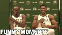 Giannis Antetokounmpo FUNNY MOMENTS