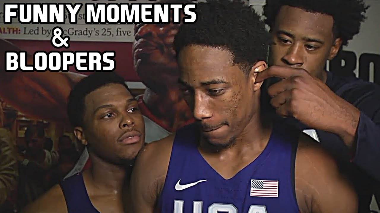 USA Basketball Team Funny Moments – Bloopers of All Time