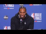 Kawhi Leonard Rare Emotion After Reporter Questions Giving Up Last Possession In Game 5-