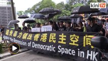 Malaysians gather in solidarity with Hong Kong protesters