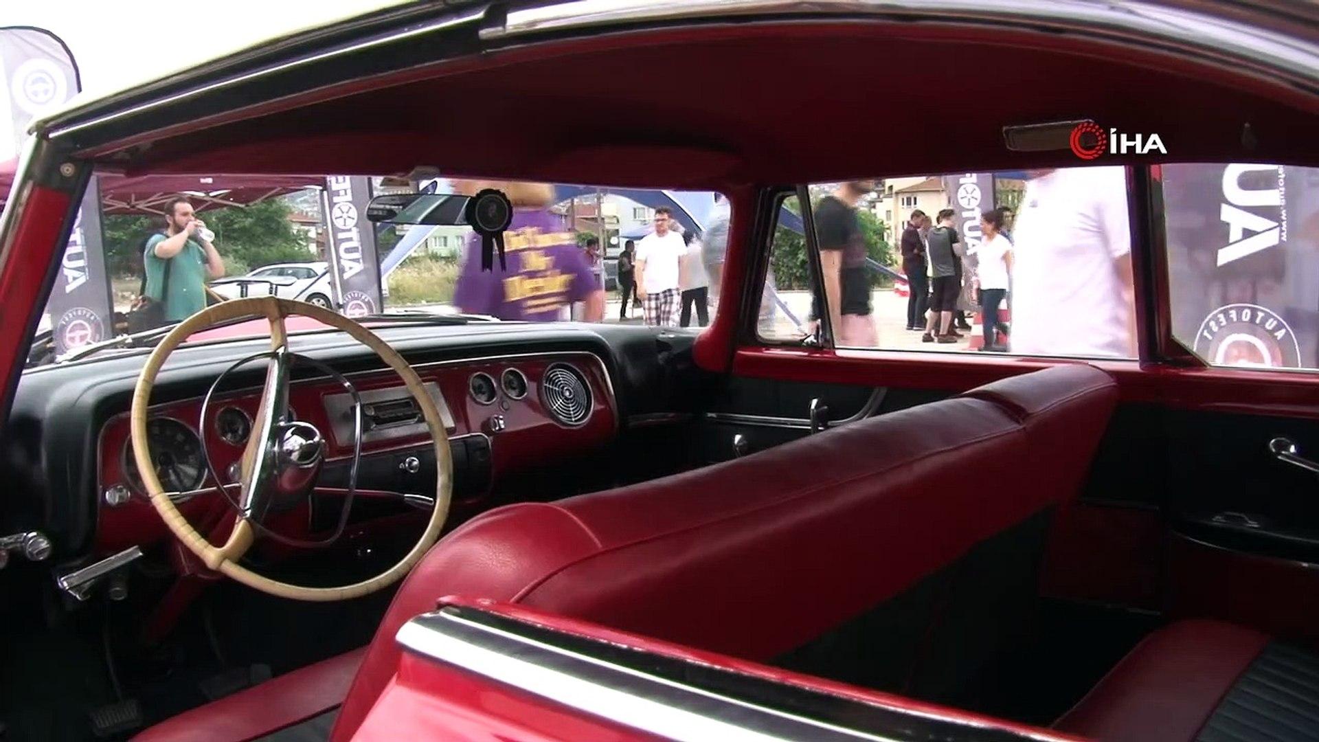 - Otomobil tutkunları bu festivalde buluştu- Klasik otomobillerden, ralli araçlarına yüzlerce araç v