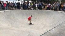 Le nouveau skate park inauguré