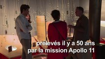 Il y a 50 ans, des fragments de Lune d'Apollo offerts à Paris