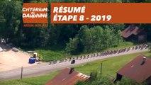 Résumé - Étape 8 - Critérium du Dauphiné 2019