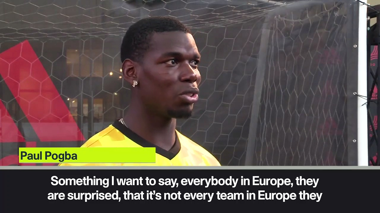 (Subtitled) 'They always clean the changing room'! Pogba thanks Japanese national team for their hospitality