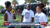 Juneteenth celebration in East Bakersfield