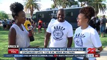 Juneteenth celebration in East Bakersfield