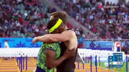 L'incroyable arrivée du 110 m haies de Rabat, Shubenkov chute mais l'emporte