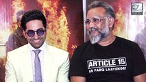 Ayushmann Khurrana And Anubhav Sinha's Interview For Article 15