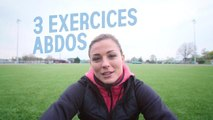 "Gainage avec Laure Boulleau, ambassadrice du programme'""On s'y remet"""