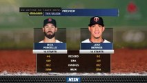 Rick Porcello Gets Start  For Red Sox's Series Opener Vs. Twins