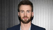 Chris Evans Shares Baby Picture On Father's Day