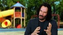 Toy Story 4- Keanu Reeves 'Duke Caboom' Behind the Scenes Movie Interview