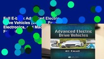 PDF Download] Advanced Electric Drive Vehicles (Energy Power