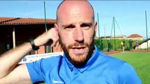 Finale Coupe du Rhône U20 - Stéphane ROUX réagit après la défaite de l'O SAINT-QUENTIN contre l'ES TRINITE