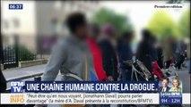 Saint-Denis: tous les matins ces parents d'élèves forment une chaîne humaine contre la drogue