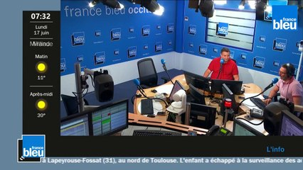 France Bleu Occitanie matin du lundi 17 juin 2019