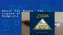 About For Books  The Legend of Zelda: Encyclopedia Complete