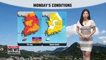 Summer heat, ozone, and UV radiation 061719