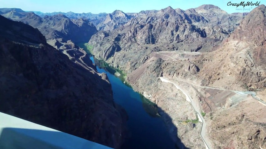 Looking Over The Hoover Dam Valley