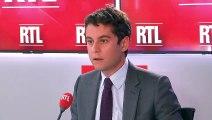 """Service national universel : """"Les jeunes ont envie d'être utiles"""", dit Attal sur RTL"""