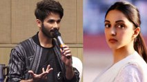 Shahid Kapoor breaks silence on Kiara Advani's role in Kabir Singh; Watch video | FilmiBeat