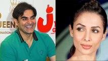 Malaika Arora's ex husband Arbaaz Khan listening romantic song for Giorgia Andriani | FilmiBeat