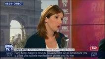 """Aurore Bergé: """"C'est légitime que les étudiants étrangers qui veulent venir en France puissent contribuer plus que les étudiants français"""""""