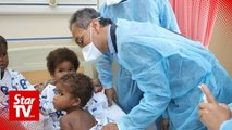 It's measles, says Health Minister on disease affecting Kg Kuala Koh