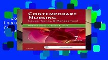 Contemporary Nursing: Issues, Trends,   Management, 7e  Best Sellers Rank : #5