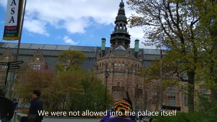 Stockholm Palace or Royal Palace of the Swedish Monarch - Sweden Holidays