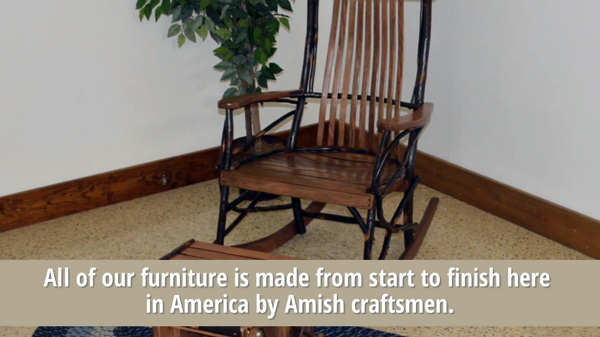 It's All Amish- An American made Amish crafted furniture